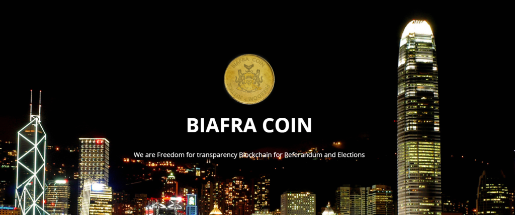 PR: Biafracoin ICO – Blockchain for Referendum and Election Voting