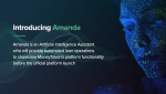 Amanda, The Money Token AI Assistant Will Provide Blockchain Backed Loans to the Crypto Community.