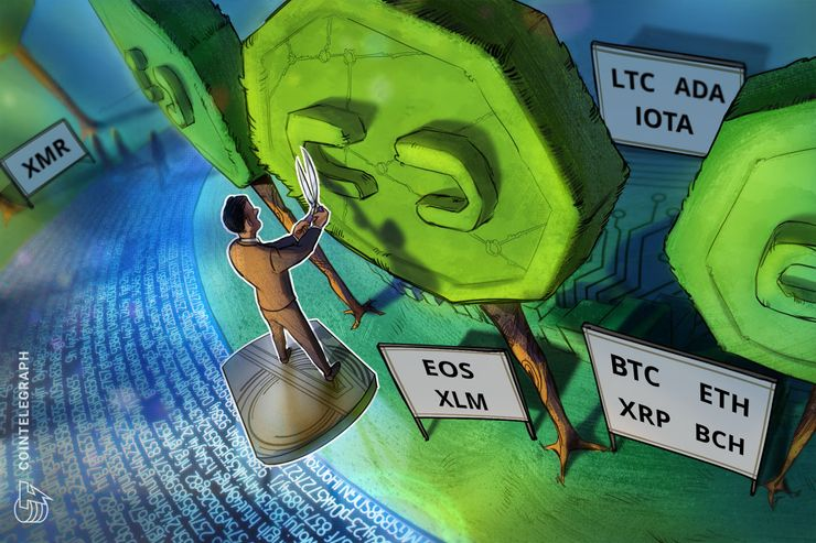 Bitcoin, Ethereum, Ripple, Bitcoin Cash, EOS, Stellar, Litecoin, Cardano, Monero, IOTA: Price Analysis, August 22