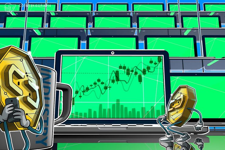 Bitcoin Nears $3,750 as Top Cryptos See Moderate Gains