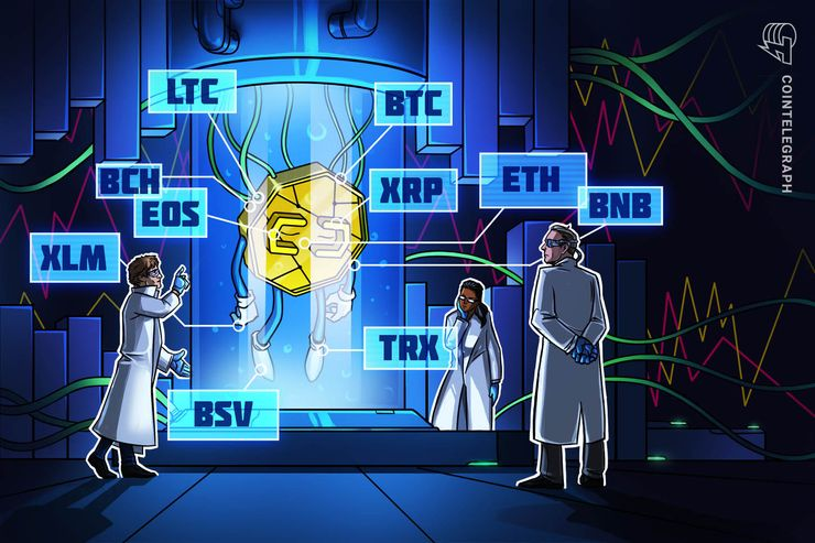 Bitcoin, Ripple, Ethereum, Litecoin, EOS, Bitcoin Cash, Tron, Stellar, Binance Coin, Bitcoin SV: Price Analysis, Feb. 8