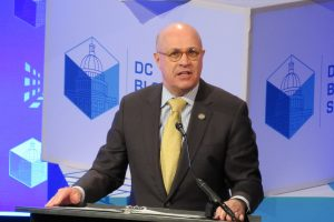 Ex-CFTC Chair 'Crypto Dad' Giancarlo Joins Digital Chamber Trade Group